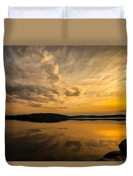 Duvet Cover featuring the photograph How Great Thou Art by Rose-Maries Pictures