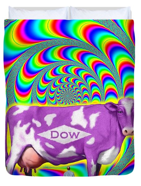 How Now Dow Cow? Duvet Cover