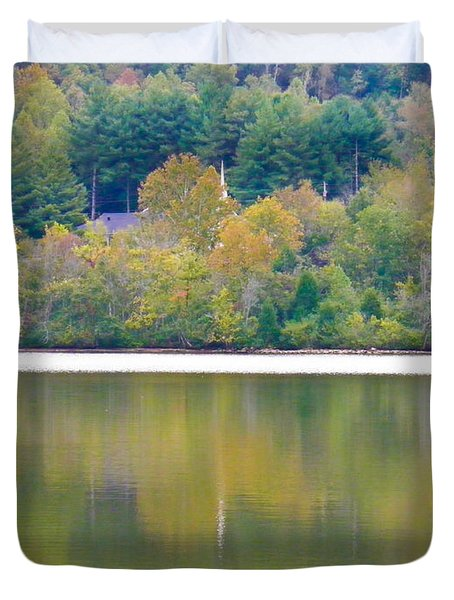 Duvet Cover featuring the photograph How Sweet The Sound by Nick Kirby