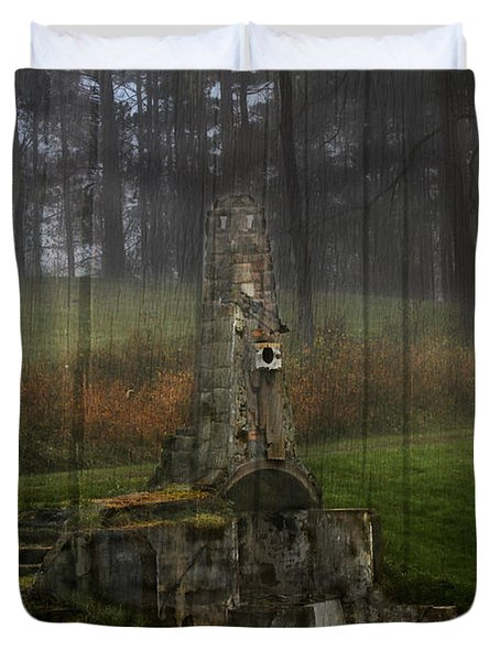 Howard Chandler Christy Ruins Duvet Cover