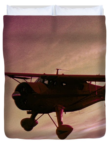 Duvet Cover featuring the photograph Howard Dga by Greg Reed