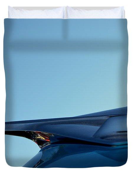Duvet Cover featuring the photograph Hr-10 by Dean Ferreira