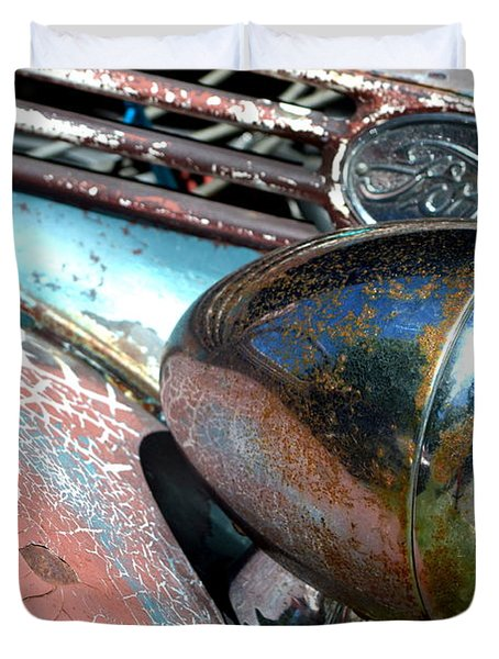 Duvet Cover featuring the photograph Hr-32 by Dean Ferreira