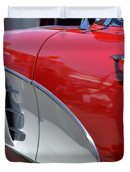 Duvet Cover featuring the photograph Hr-37 by Dean Ferreira