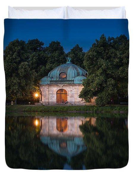 Hubertusbrunnen Duvet Cover