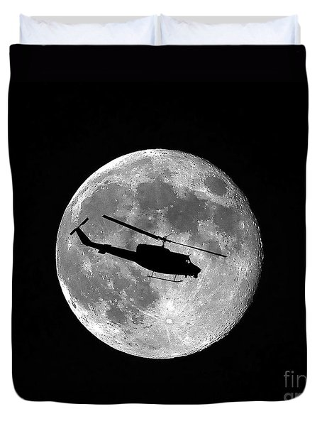 Huey Moon Duvet Cover