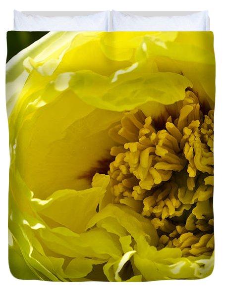 Huge Yellow Flower Duvet Cover
