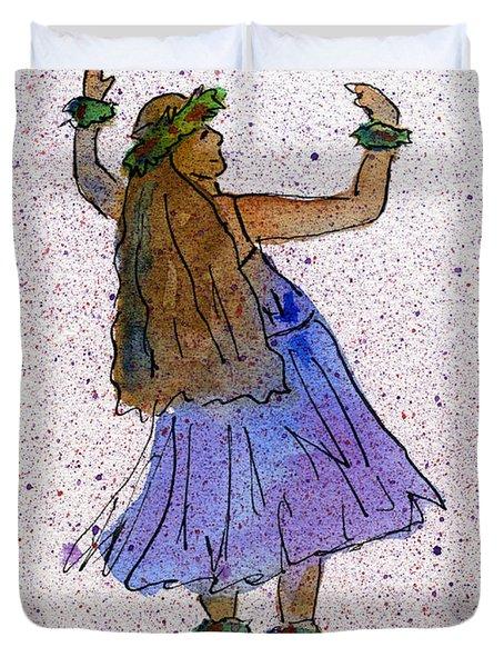 Hula Series Malia Duvet Cover