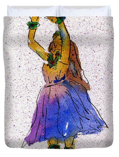 Hula Series Melika Duvet Cover