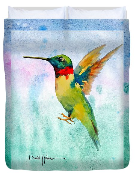 Da202 Hummer Dreams Revisited By Daniel Adams Duvet Cover