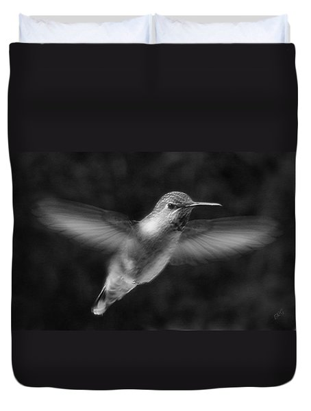 Hummingbird Duvet Cover by Ben and Raisa Gertsberg