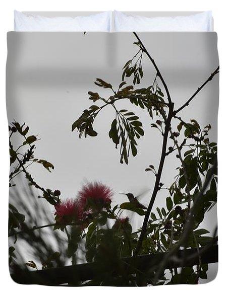 Hummingbird Sihouette IIi Duvet Cover