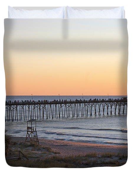 Hummingbird Sunrise Duvet Cover