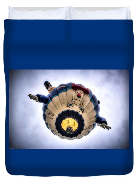 Humpty Dumpty Hot Air Balloon Duvet Cover