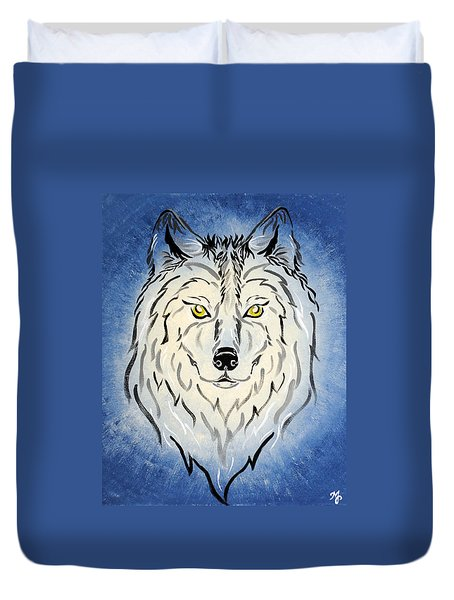 Hungry Like The Wolf Duvet Cover