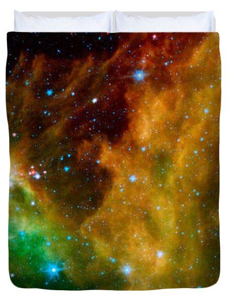 Hunter Constellation Duvet Cover by Sebastian Musial
