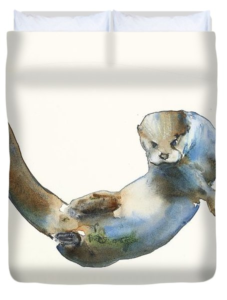 Hunter Duvet Cover by Mark Adlington