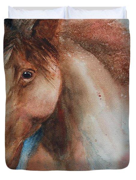 Hunter Duvet Cover by Ruth Kamenev
