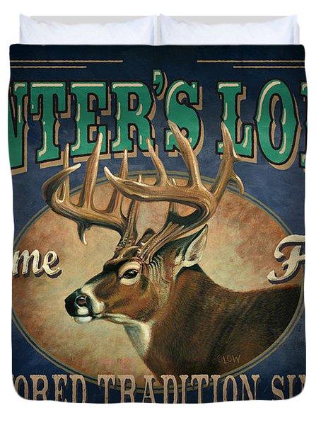 Hunters Lodge Deer Duvet Cover by JQ Licensing
