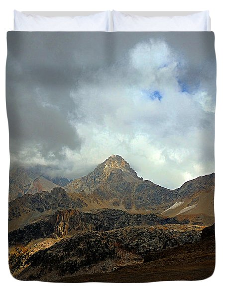 Hurricane Pass Duvet Cover