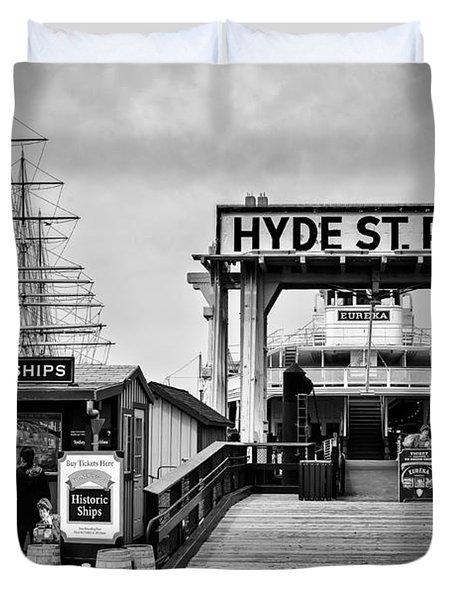 Hyde St. Pier Duvet Cover