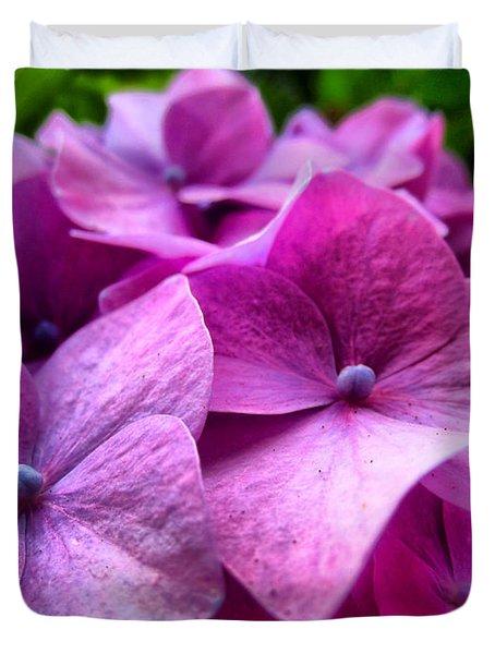 Hydrangea Bliss Duvet Cover