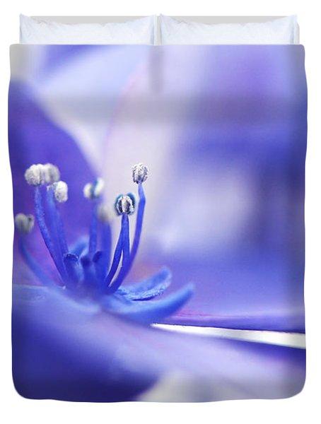 Hydrangea Closeup Duvet Cover