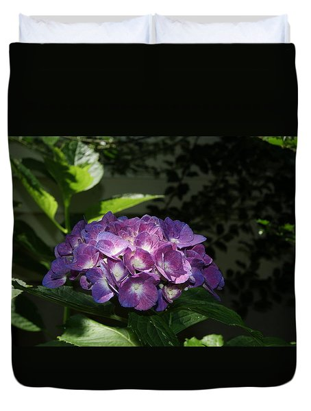 Duvet Cover featuring the photograph Hydrangea Season by Margie Avellino