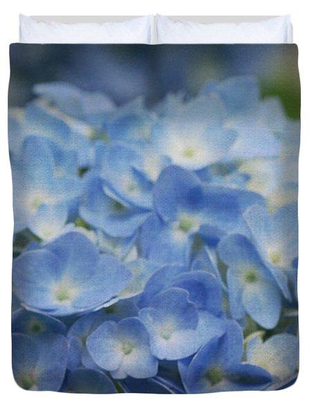 Hydrangea Solitude Duvet Cover