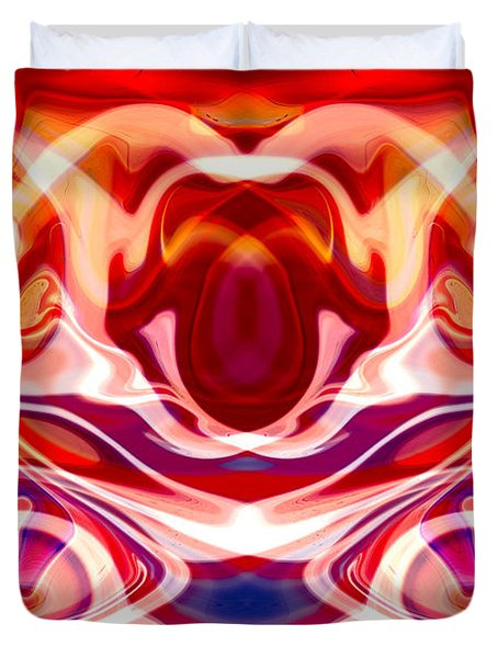 Hypnotoad Duvet Cover by Omaste Witkowski