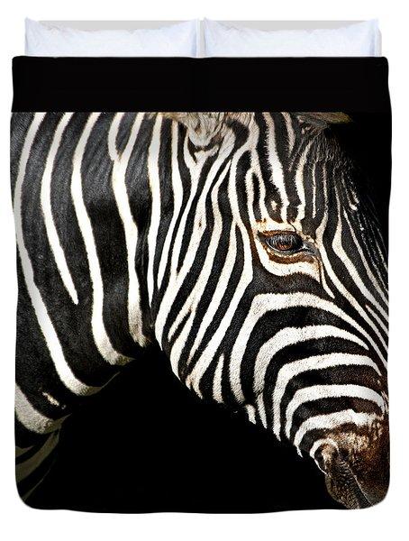 I Am A Zebra Duvet Cover