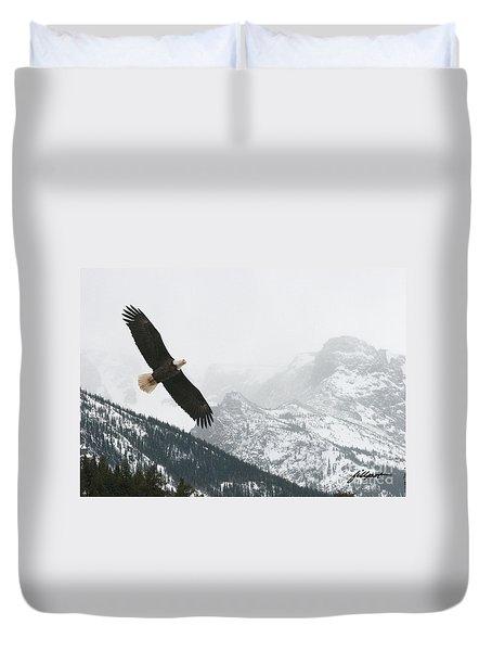 I Am The Eagle Duvet Cover