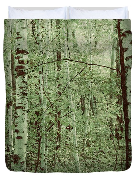 Dreams Of A Forest Duvet Cover