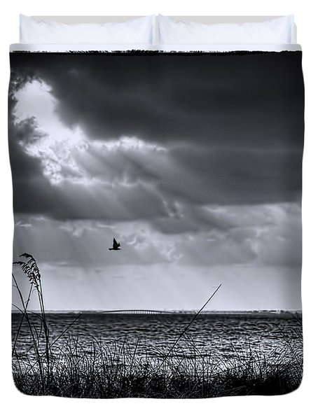 I Fly Away Duvet Cover by Marvin Spates