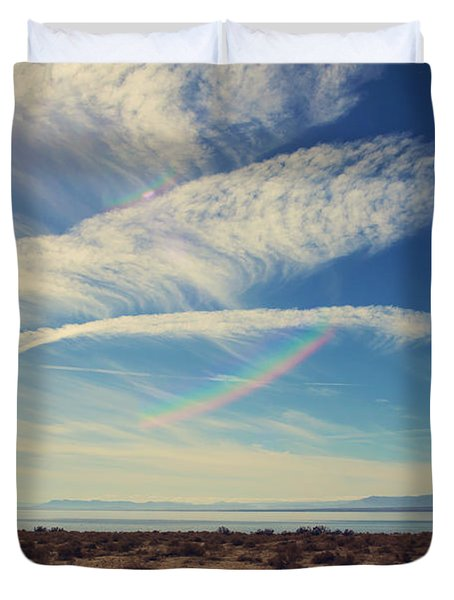 I Hope And I Dream Duvet Cover by Laurie Search