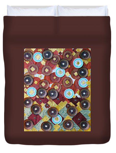 Duvet Cover featuring the photograph I Love Chocolates by Lorna Maza