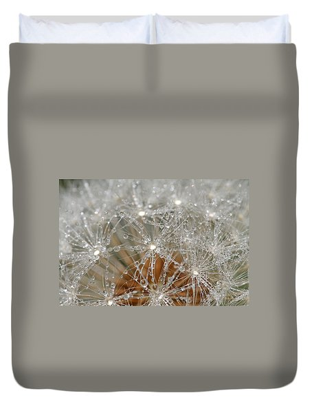 I Might've Gone To Seed But I Still Know How To Party Duvet Cover by Peggy Collins