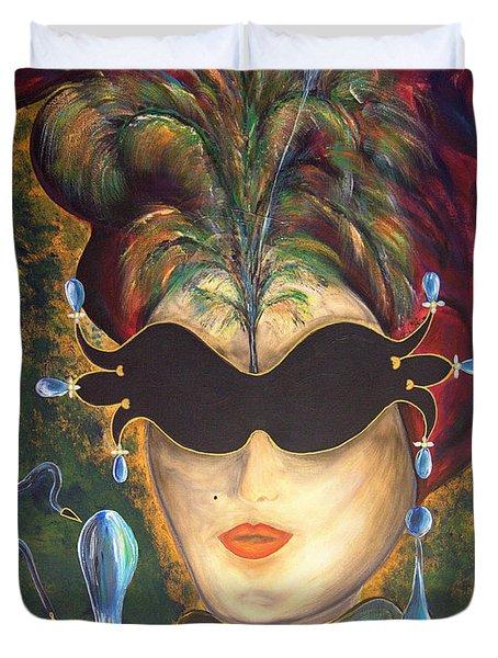I Put A Spell On You... Duvet Cover by Jolanta Anna Karolska