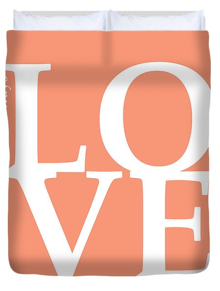 I Will Always Love You Duvet Cover by Mark Ashkenazi