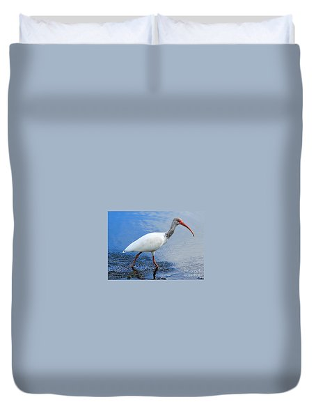 Ibis Visitor Duvet Cover