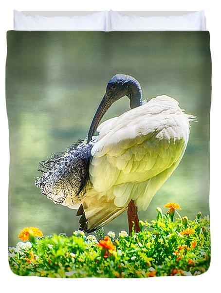 Ibis  Duvet Cover