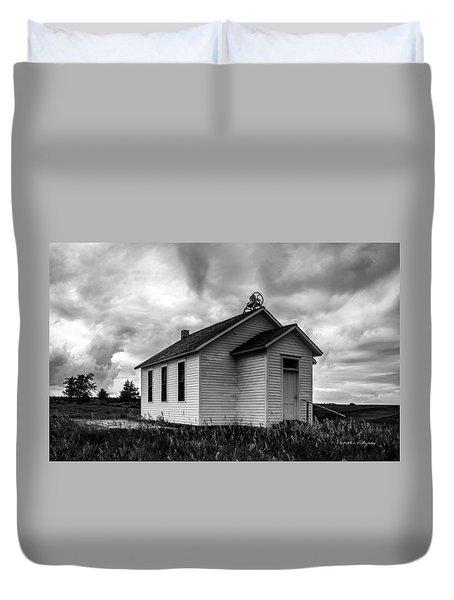Icarian Schoolhouse Duvet Cover