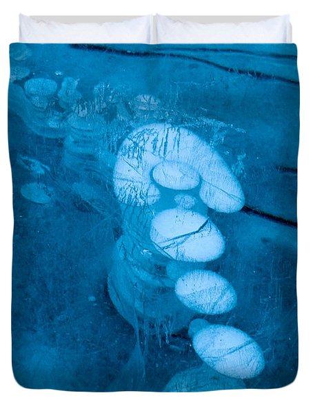 Ice Arrow Duvet Cover