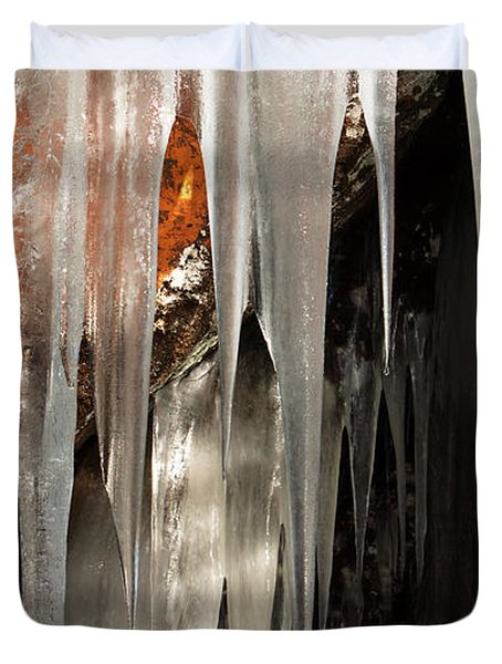 Ice Cave Duvet Cover