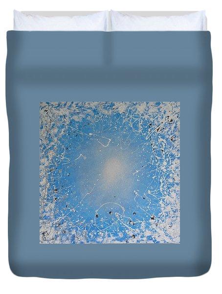 Ice Cold Sun Duvet Cover by John Pimlott