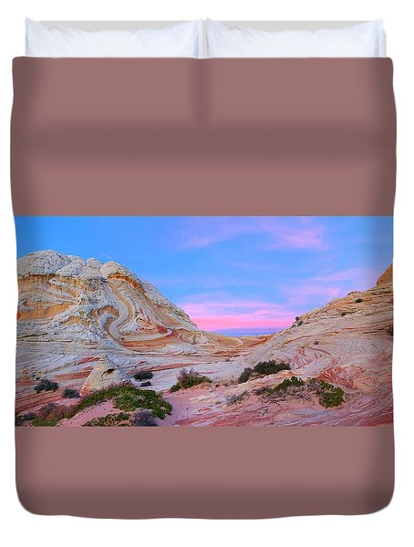 Ice Cream Sunday Duvet Cover