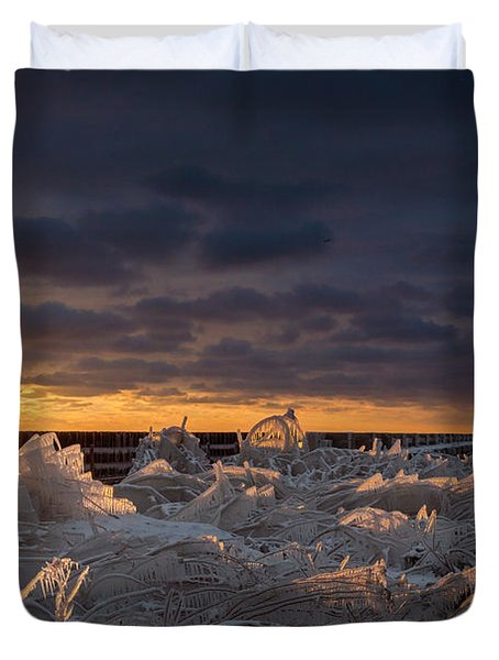 Ice Fields Duvet Cover