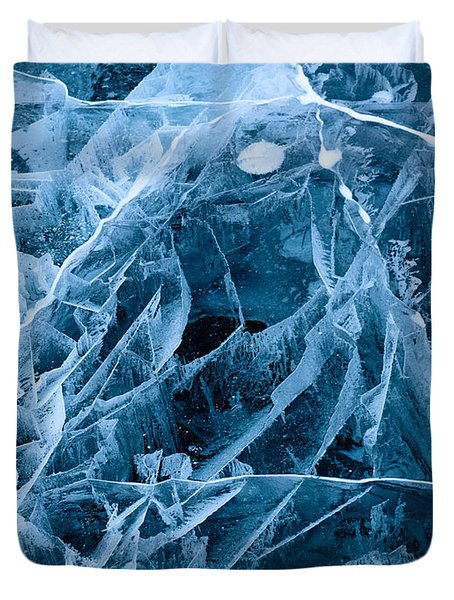 Ice Triangle Duvet Cover