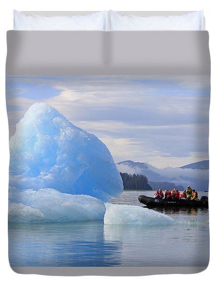 Iceberg Ahead Duvet Cover