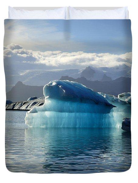 Iceberg Duvet Cover by Deborah Benbrook